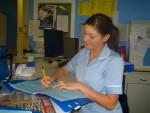 enfermera control